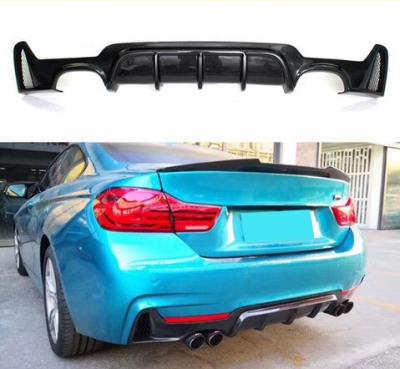 .Накладка (диффузор) заднего бампера BMW F32/F33 М-PERFORMANCE черн. глянец