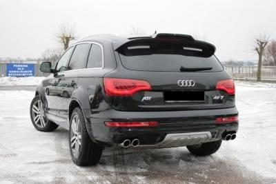 Спойлер на заднюю дверь Audi Q7