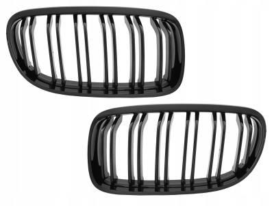 Решетка радиатора BMW E90 / E91 М черная глянцевая