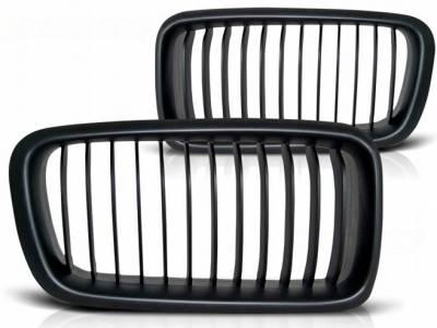 Решетка радиатора BMW E38, черный мат