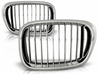 Решетка радиатора на BMW E39 хром