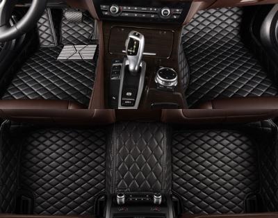 Коврики салона Audi Q7 4M, черные (2015-2020)