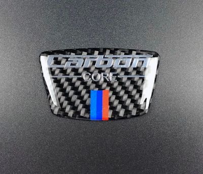 """Наклейка из углеродного волокна BMW """"Carbon"""""""