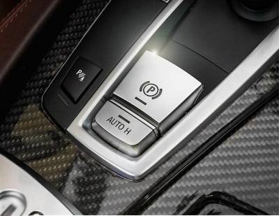 Накладка на кнопку центрального тормоза БМВ