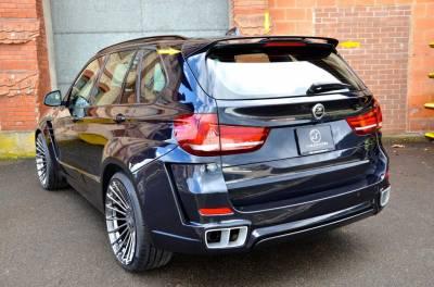 Спойлер задней двери Hamann BMW X5 F15