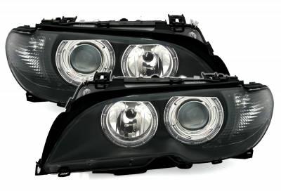Оптика передняя, фары на БМВ E46 (Coupe / Cabrio)