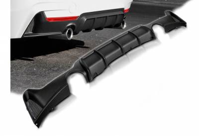 Накладка (диффузор) заднего бампера BMW F32/F33 М-PERFORMANCE вар.3