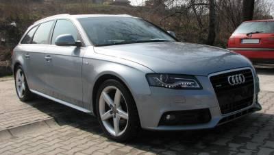 Пороги на Audi A4 B8 в стиле S-line