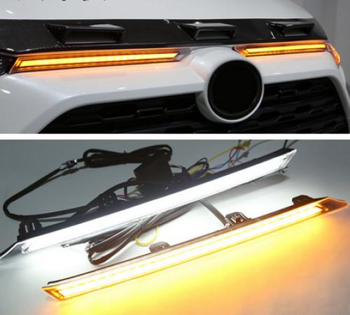 Дневные ходовые огни Toyota RAV4 с функцией поворота (2019-...)