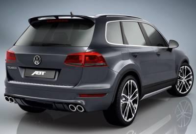 Спойлер на Volkswagen Touareg 2 ABT
