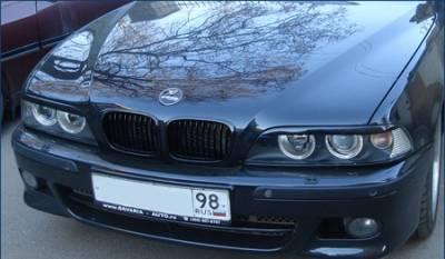 Реснички, накладки фар BMW E39