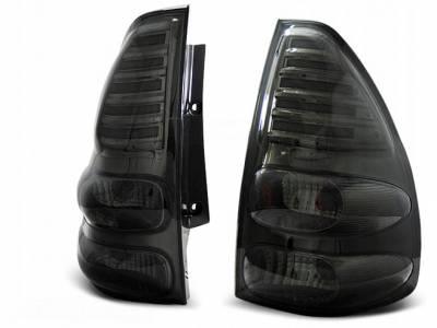 Оптика задняя, фонари на  Ленд Крузер 120 дымчатые