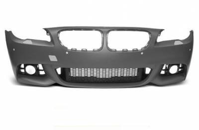 Бампер передний BMW F10 / F11 послерестайл М-PAKIET