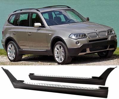Боковые площадки на BMW X3 E83