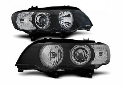 Оптика передняя, фары на БМВ X5 E53