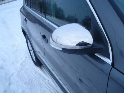 Хром накладки на зеркала Volkswagen Tiguan