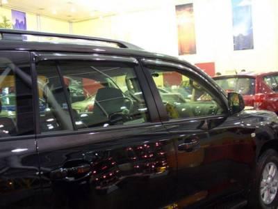 Дефлекторы окон ветровки EGR Тойота Лэнд Крузер 200