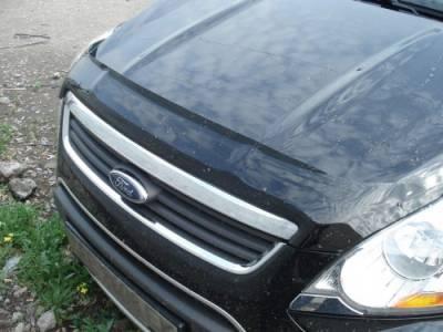 Дефлектор капота мухобойка SIM Ford Kuga