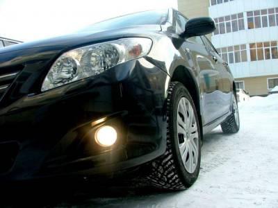 Противотуманные фары Toyota Corolla 2007-2009