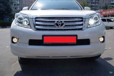 Решетка радиатора  на Toyota LC Prado 150 Elford