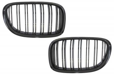 Решетка радиатора BMW F01 черная глянцевая