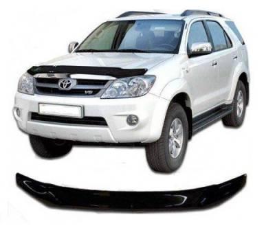 Дефлектор капота мухобойка Toyota Fortuner 2006-2008