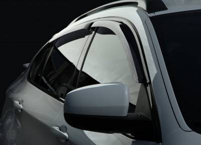 Дефлекторы окон ветровики  SIM Toyota Land Cruiser Prado 200