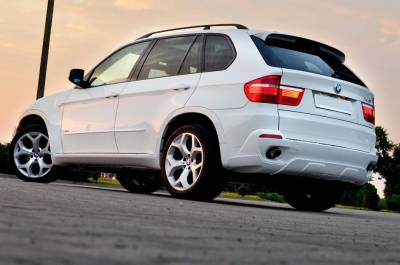 .Накладка заднего бампера BMW X5 e70