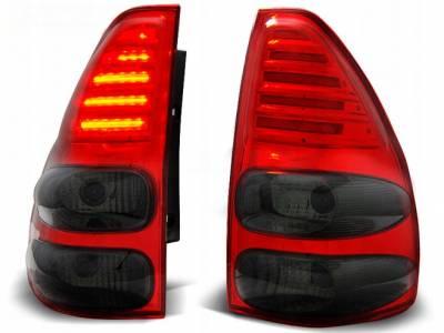 Оптика задняя, фонари на  Land Cruiser 120