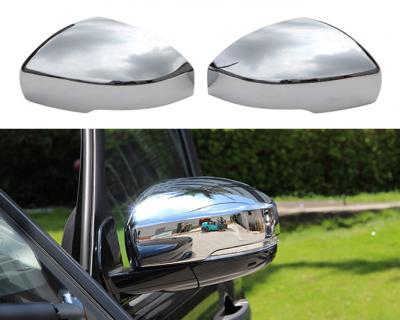 Накладки зеркал Range Rover Vogue L405 / Sport L494 / Discovery 4/5, хром (2014-2018)