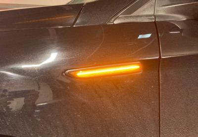 Указатели поворота в крыло Ford Mondeo Mk4 дымчатые