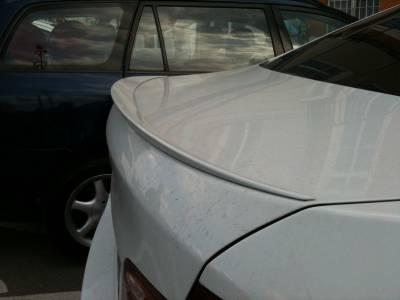 Спойлер крышки багажника BMW F10 М5 (ABS-пластик)