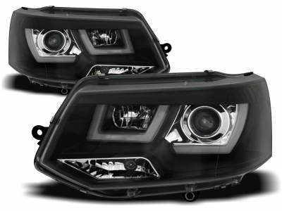 Оптика передняя, фары на VW T5 черные