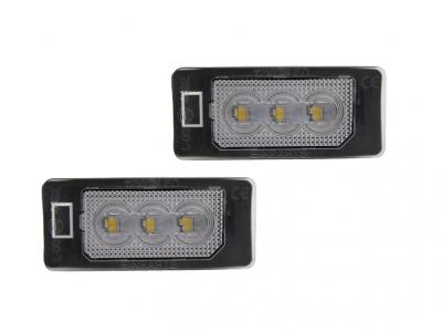 .Подсветка номера AUDI Q5 / A1 / A4 / A5 / A6 / A7 / TT / VW PASSAT B6 / SKODA FABIA / YETI / SUPERB