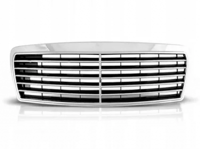 Решетка радиатора на Мерседес 124 хром