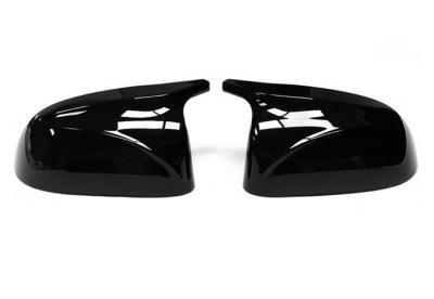 Накладки на зеркала BMW X3 G01, X4 G02, X5 G05, X6 G06 черн. глянец