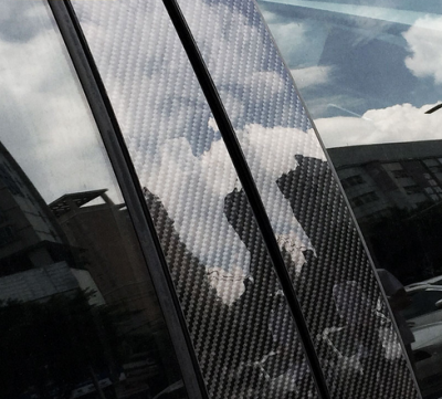 Молдинги дверных стоек BMW F07