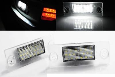 Подсветка номера на AUDI A4 B5