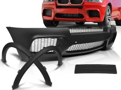 Бампер передний на BMW X5 е70 М5