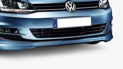 Накладка на передний бампер VW GOLF 7