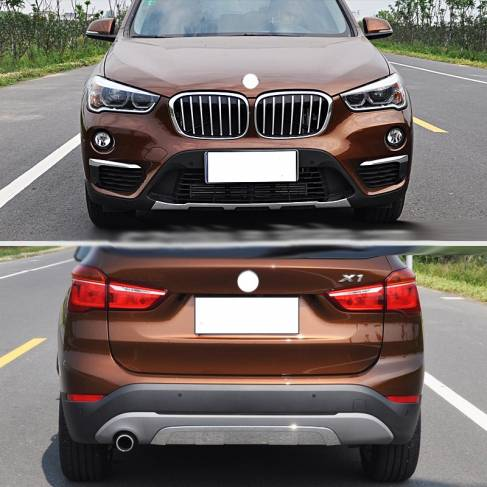 Передняя и задняя накладки BMW X1 F48