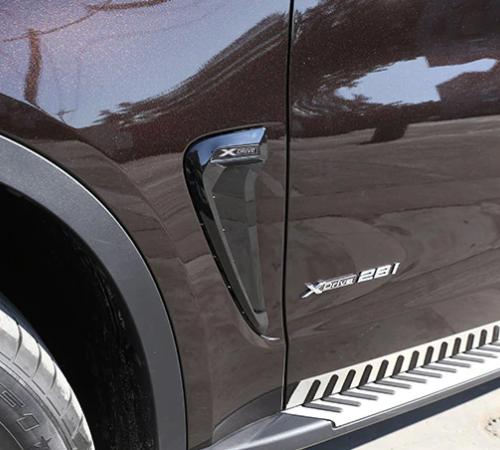 Накладки на крылья-жабры BMW X5 F15 Xdrive черные