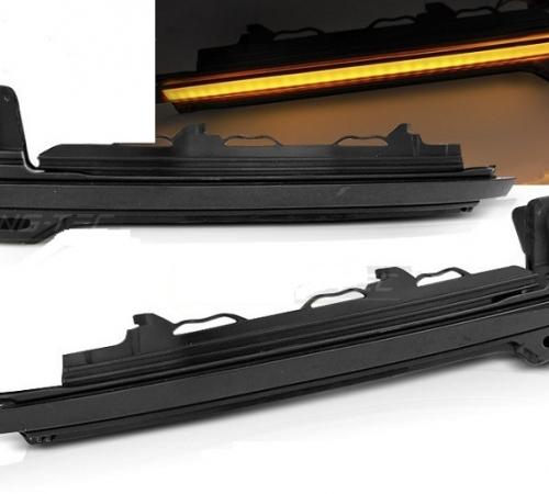 Динамические повторители поворотов Audi TT / R8 дымчатые рестайл