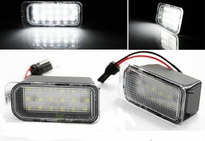 Подсветка номера Ford Fiesta / Focus/ Mondeo/ C-Max/ S-Max/ Galaxy