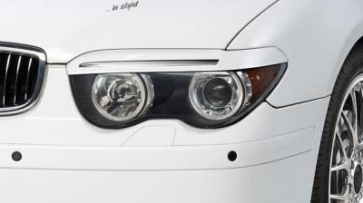 Реснички, накладки фар BMW E65