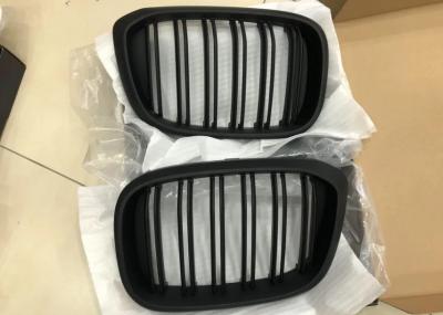 Решетка радиатора BMW X3 G01 / X4 G02 черная матовая