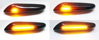 Динамический светодиодный указатель поворота BMW
