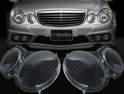 Оптика передняя, стекла фар Mercedes W211