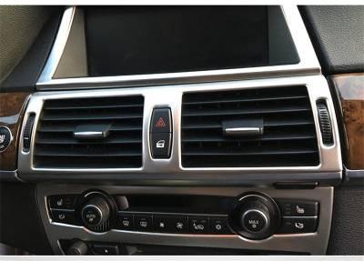 Накладки передней панели салона BMW X5 E70, X6 E71
