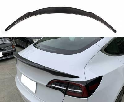 Спойлер для Tesla Model 3, карбон